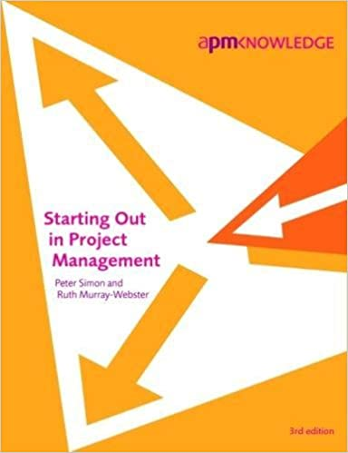 Book Starting Out in Project Management