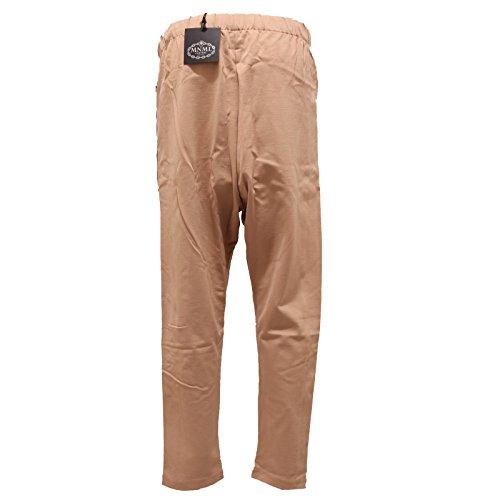 Pant Beige 2311s Basso Woman Donna Couture Cavallo Pantalone Minimal Trouser nero ZzqYzwAPr