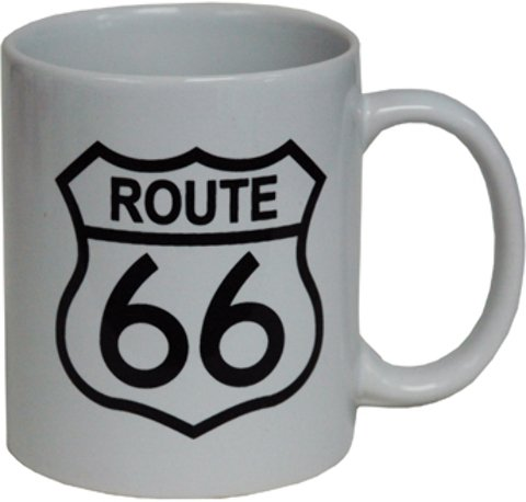 Jenkins Enterprises 1937456 Route 66 Mug Shield - Case of 36 ()