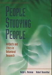 People Studying People: Artifacts and Ethics in Behavioral Research