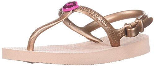 - Havaianas Unisex Kids Freedom SL Sandal Ballet Rose, 25/26 BR (10 M US Toddler)
