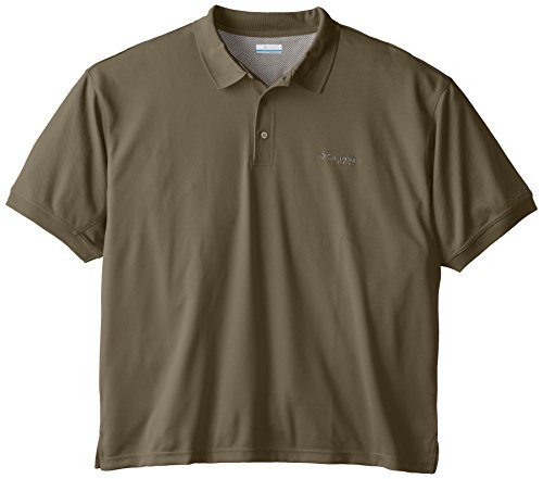 Columbia Sportswear Men's Perfect Cast Polo Shirt, Sage, 3X