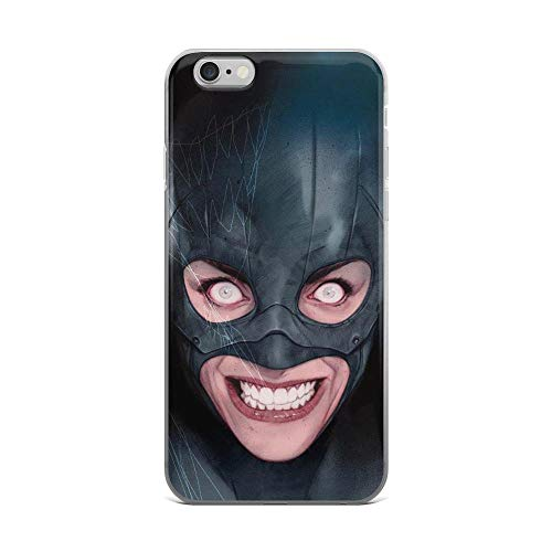 iPhone 6 Plus/6s Plus Pure Anti-Shock Clear Case Scary Catwoman -
