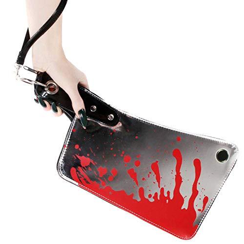 - Kreepsville 666 Cleaver Clutch Bag Metallic