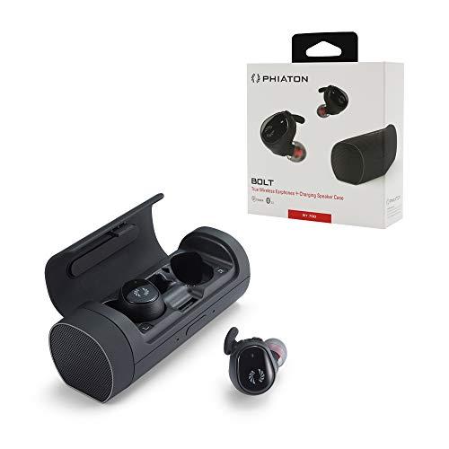 Phiaton Bolt BT 700 BA Black Balanced Armature True Wireless Earbuds with Mic