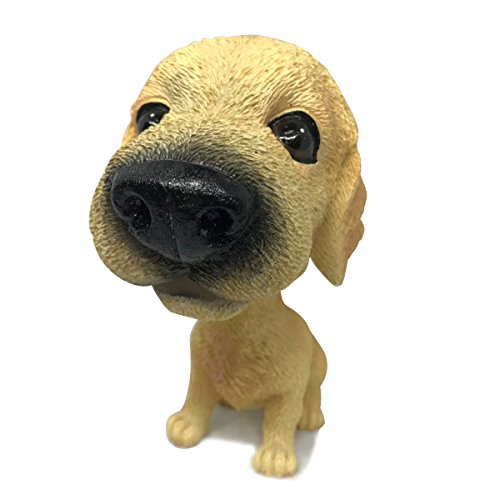COGEEK Bobble Head Dogs Bobbing Heads Car Dash Puppy Car Decoration (Golden Retriever) (Doll Bobbing)