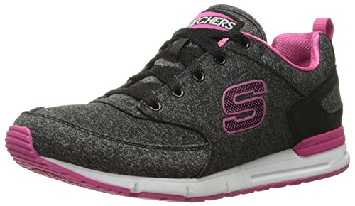 Skechers Originals Women's Retros OG 92 Walk It Out Fashion Sneaker, Black, 7 M US