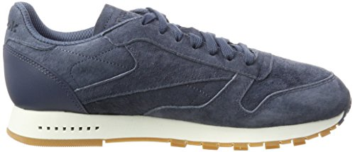 Leather Classic gum chalk Homme Sg Bleu Baskets smoky Reebok Indigo UqfZw