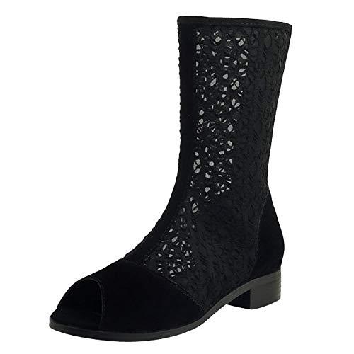 Boots Misssasa Estate Nero Stivaletti Punk Donna rTwxCqTE