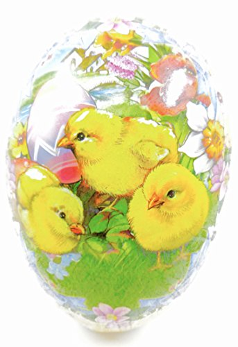 Easter Egg Treat Filling Container,Baby Chicks,Easter Eggs,Flowers,8