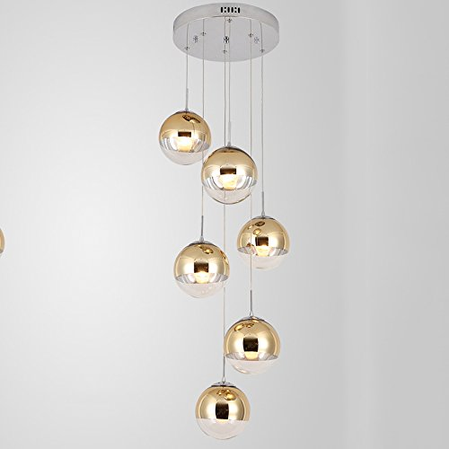 6 Light Wire Ball Pendant in Florida - 7