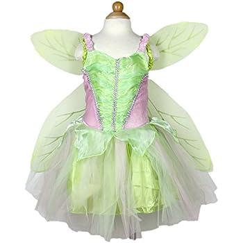 846af3ad95a Amazon.com: Let's Pretend Child's Springtime Fairy Costume with ...