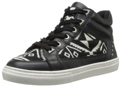 (Bronx Women's Zoo Nee, Black/White, 39 EU/9 M US)