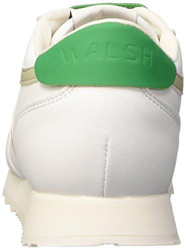 Walsh Vs-B, Scarpe da Ginnastica Donna Multicolore (White/White/Green)