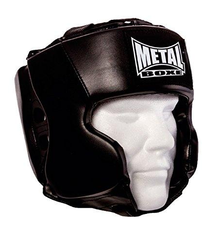 METAL BOXE mb117/Casco Unisex Negro