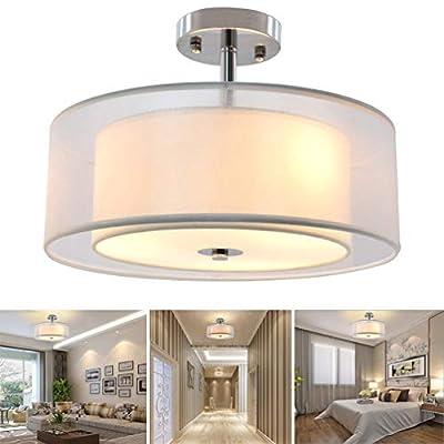 Flushmount Led Ceiling Light,Close to Ceiling Light Fixture for Living Room,Bedroom,Dinning Room