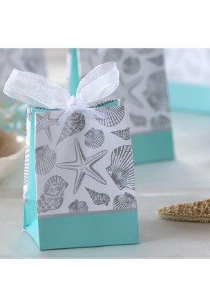 Seashells Favor Gift Bag, 6 count (Gift Seashell)