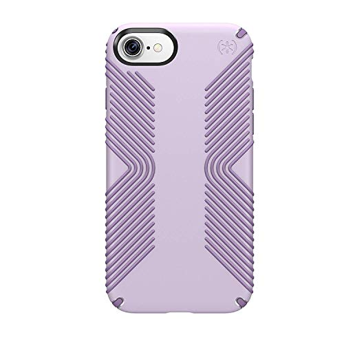 Speck Products 79987-5734 Presidio Grip Cell Phone Case for iPhone 7  - WHISPER Purple/Lilac Purple ()