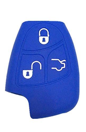 Rpkey Silicone Keyless Entry Remote Control Key Fob Cover Case protector For Mercedes-Benz Class A C E S ML CLK SLK C200 E320 350 CLS IYZ3312