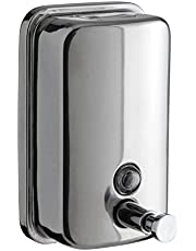Stainless Steel Wall Mounted Liquid soap / Lotion Dispenser 800 ml