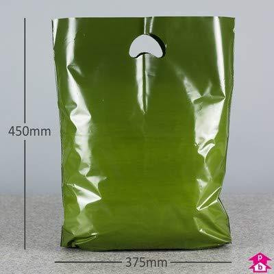 2500 x Harrods verde bolsa de transporte - tamaño mediano ...