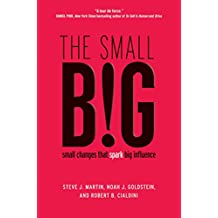 The small BIG: small changes that spark big influence (English Edition)