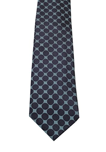 CL - TOM FORD Patterned Blue Tie In Silk (Ford Ties Tom)