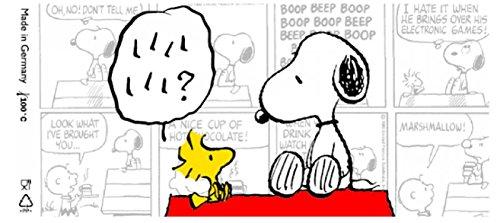 NUK Snoopy Peanuts - 2 x Chupete anatómica Sili Kone, nº 10.735.074/blanco (6 - 18 M +): Amazon.es: Bebé