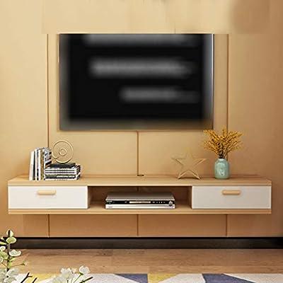 TV de la pared del gabinete del estante de la pared del gabinete set-top box colgar de la pared Pequeño Apartamento Salón Dormitorio fondo de la pared la pared de colgante Multimedia