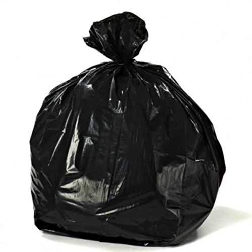 Plasticplace Tall Black Kitchen Bags, 12-16 Gallons, 24