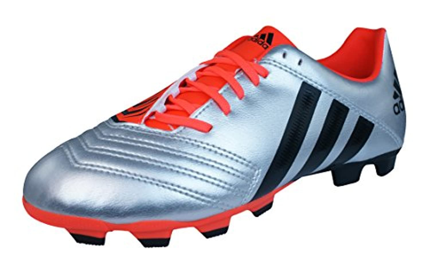 adidas Incurza Rugby TRX FG Boys Rugby Boots-Red-5