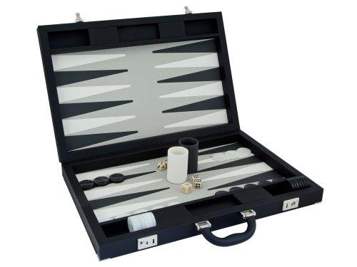(Dal Negro Luxury Black Backgammon Set )