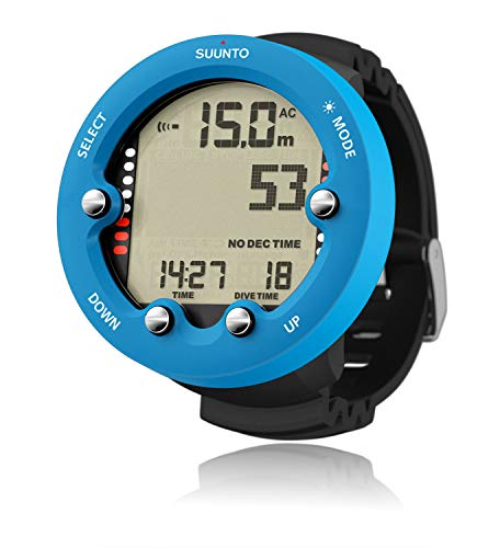 Big Blue Dive - SUUNTO Zoop Novo Wrist Scuba Diving Computer, Blue, Without USB