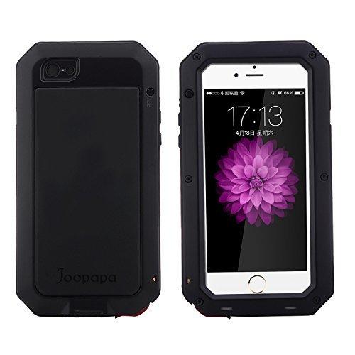 iPhone 6S Case, iPhone 6 Case, Joopapa Shockproof Dustproof Waterproof Aluminum Alloy Metal Gorilla Glass Cover Case For Apple iPhone 6S/6 4.7 inch (Aluminum Alloys)