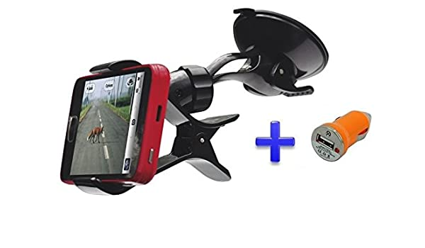 Soporte Ventosa Coche Parabrisas para teléfono móvil Smartphone ...