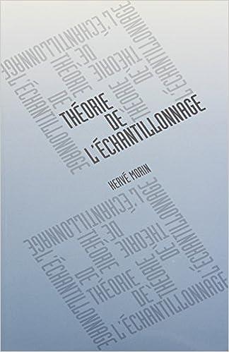 Livre THEORIE DE L ECHANTILLONNAGE pdf, epub ebook