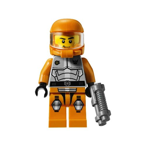 with LEGO Galaxy Squad design
