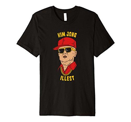 Mens Funny Kim Jong Il North Korea T-Shirt Kim Jong Illest 2XL - Un Sunglasses Kim Jong