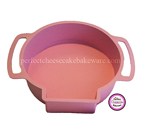 Leakproof Baking Pan - By Perfect Cheesecake Bakeware - Bake with 9-inch, 8-inch or 7-inch Standard Round Springform Pans - Silicone Protector is 100% Leak proof in waterbath - No More Foil (Pink) by Perfect Cheesecake Bakeware (Image #7)
