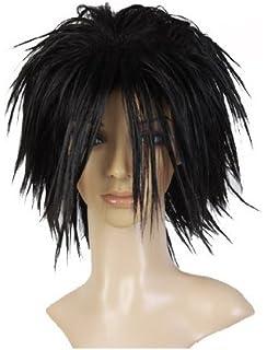 Cosplayland C744 - Death Note L Ryuuzaki black Spiky Cosplay short Party  Wig (peluca) dbc82fbf9963