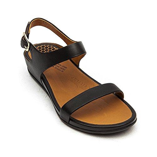 Fitflop Dames Banda Backstrap Sandaal Schoenen Zwart