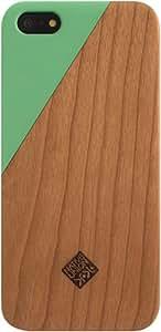 Native Union - Carcasa de madera para iPhone 5 y 5S, color verde
