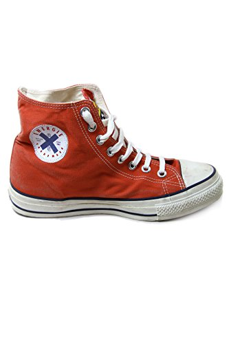 Energie Vintage Canvas Mid Sneakers Hi-Bulls Red UK3 EU36