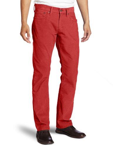 Cords Levis - Levi's Mens 514 Straight Corduroy Pant, Auburn, 34x30
