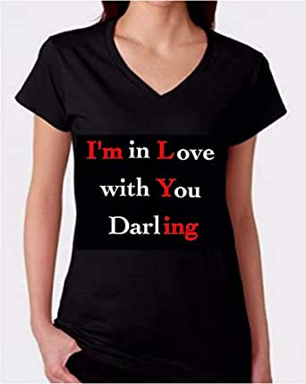 I am in love with you humor t-shirt