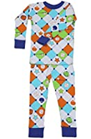 New Jammies Boys' Organic Cotton Snuggly Pajamas