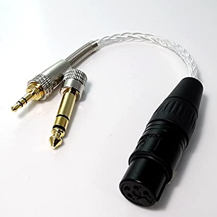 4 cores PCOCC 4-pin xlr male balanced to 4-pin xlr female balanced audio cable
