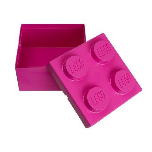 LEGO PINK BRICK STORAGE BOX
