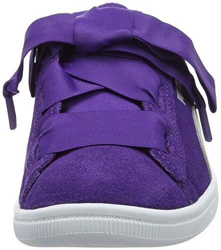 Puma Para Ps Morado Zapatillas Violet Violet Vikky gray 03 Niñas Ribbon Ac prism Uq4XUr