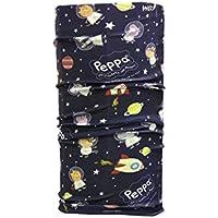Wind Xtreme Peppa Space - Braga de Cuello para niños, Multicolor, Talla única